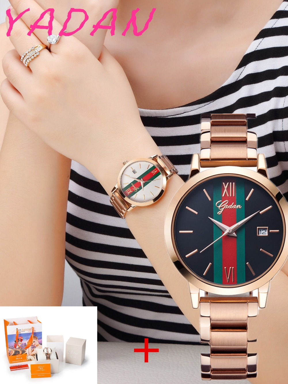 New 2017 Top Brand Waterproof Women Sports Watches Women Casual Quartz Watch Stainless Steel Wrist Watch Relogio Feminino Clock new famous dqg brand quartz watch women sports gold stainless steel watches relogio feminino clock casual wristwatches hot sale