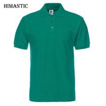 Los hombres de la marca Camisa para hombre Camisas de Polo del Color sólido  Camisa Masculina hombres Casual algodón de manga cor. d971a3b1fc7f6