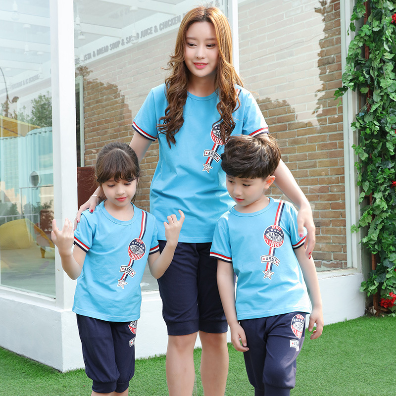 Children Cotton Korean Class Service Kindergarten Summer Uniforms Suite 2016 Pupils
