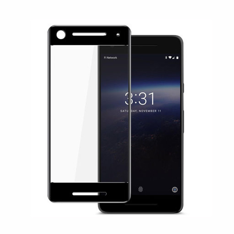 2pcs 3D Full Cover Tempered Glass For Google Pixel 2 9H full Screen Protector Film For G ...