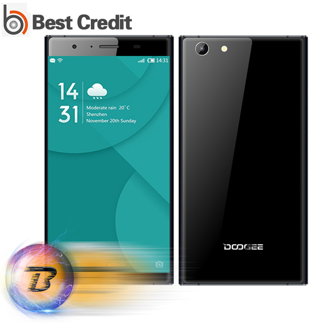 "Original Doogee Y300 Mobile Phone 4G LTE 5.0"" 720P Android 6.0 MT6735 Quad Core 2G RAM 32G ROM 2200mAh 8.0MP Camera 6.7mm"