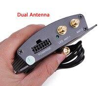 Hotaudio de Alta Velocidad HD Sintonizador de TV Móvil Del Coche DVB-T T2 Caja Del Receptor de TV Digital MPEG-4