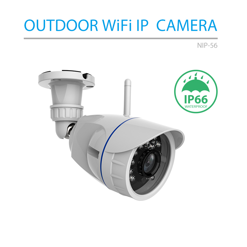 Wi-Fi IP Camera Wireless Outdoor Waterproof  HD 720P Network Night Vision CCTV Camera Work with Alexa Echo ShowWi-Fi IP Camera Wireless Outdoor Waterproof  HD 720P Network Night Vision CCTV Camera Work with Alexa Echo Show