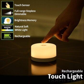 Luz da Noite das crianças Toque Dimmable LEVOU Recarregável Crianças Luzes Da Lâmpada para o Quarto Do Bebê Lâmpada de Cabeceira Criativo Quarto Berçário