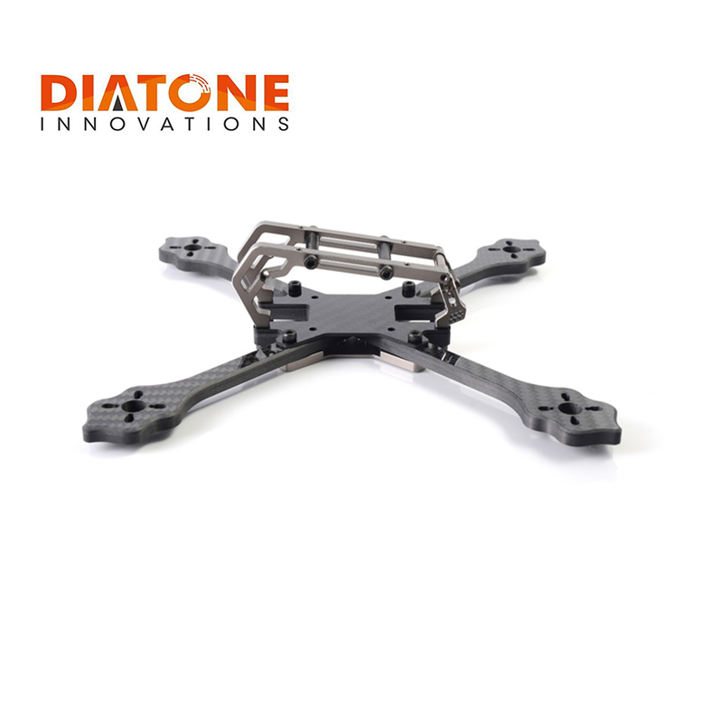 Diatone 2018 GT-M200 200mm Normal X FPV RC Racing Drone Carbon Fiber Frame Kit 6mm Arm Supports 5 Inch Prop VS GEPRC REALACC стоимость