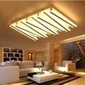 Прямоугольный светодиодный потолочный светильник для гостиной  спальни  ресторана  простой современный коммерческий потолочный светильни...