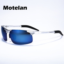 Reflective coating lens aluminum magnesium frame men's polarized sunglasses fashion Anti-glare car driving uv400 glasses L7177