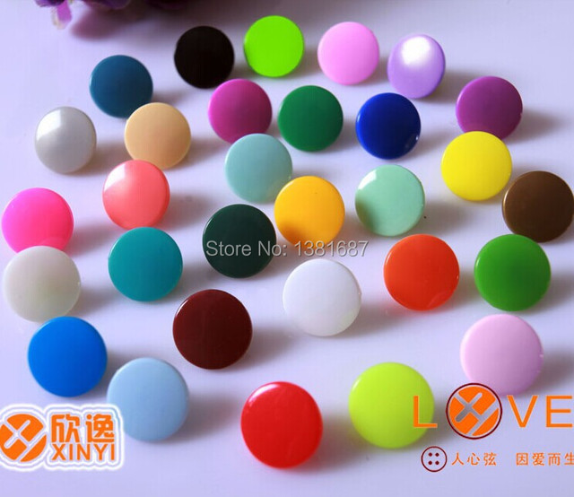 Mix color 1000 units sold KAM T5 baby snap buttons clothing accessories a total of 25 colors