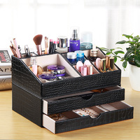 Drawer type desktop dressing table skin care brush lipstick rack cosmetic storage box ZP01121547