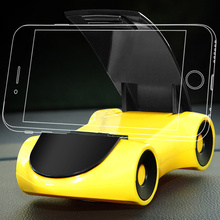 BFOLLOW Dashboard Car Phone Holder Universal ABS Stand with Diffuser Free Solid Perfume Support Mobile