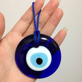 D6CM Turco Mal de Ojo Charm colgante colgantes Amuleto ojo afortunado hecho a mano del ornamento Del Coche Casa Handmade Islámico Árabe