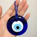 D6CM Turkish Evil Eye Charme pingente Amuleto Carro pendurado sorte eye handmade ornamento Casa Handmade Islâmica Árabe