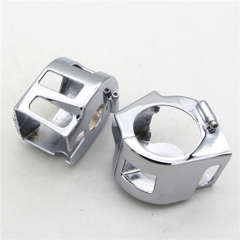 US $20 05 9% OFF|RPMMOTOR CHROME BILLET SWITCH HOUSING COVERS for Yamaha V  Star 650 Custom (not Classic or Silverado)-in Covers & Ornamental Mouldings