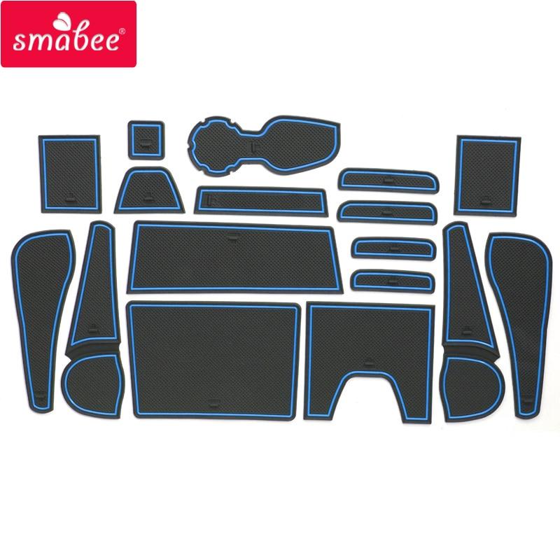 Smabee Gate Slot Pad Para Chevrolet AU Holden COLORADO 2012-2017 LT - Accesorios de interior de coche - foto 5