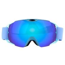 3 Color UV400 Double Lens Ski Eyewear Anti-fog Ski Glasses Spherica Ski GogglesSki Snowboard Snow Motocross Goggles
