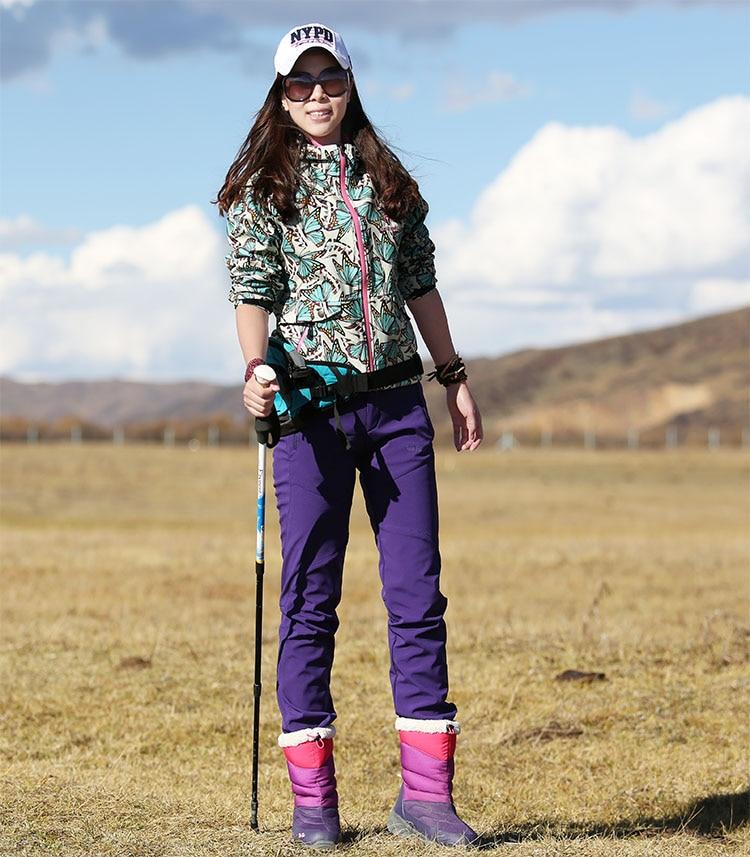 Hiking pants AD021 Model Show 1
