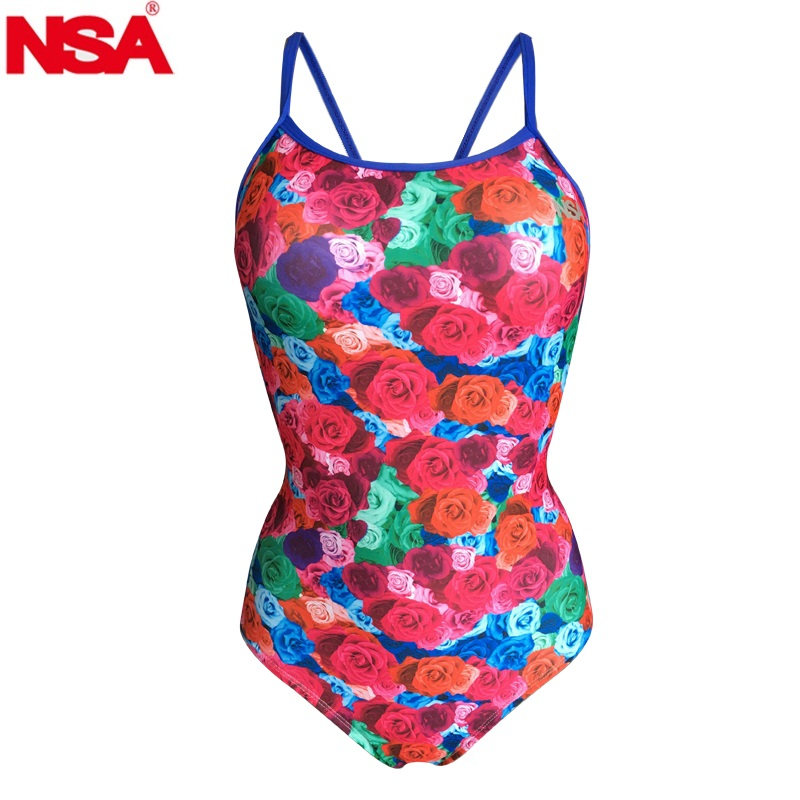 NSA 2018 one piece Competitive swimming girls swimwear competition swimsuits training swimsuit women girls racing swim suit funfeliz flamingo swimsuit for girls 2 8 years one piece girls swimwear cute unicorn kids swimming suit children bathing suits
