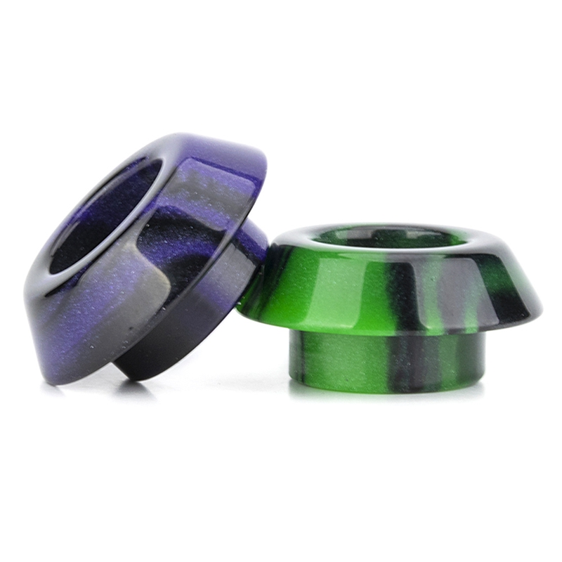 1pc Short Resin 810 Drip Tips Wire Bore Mouthpiece For Kennedy 24 Battle Goon Rda Ecig Vape Accessory