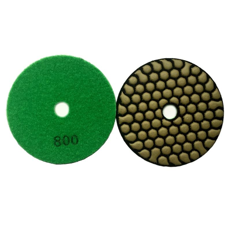 RIJILEI 7 tükki / partii 4 tolli / 100 mm kuiva poleerimispadjakest - Elektrilised tööriistad - Foto 4