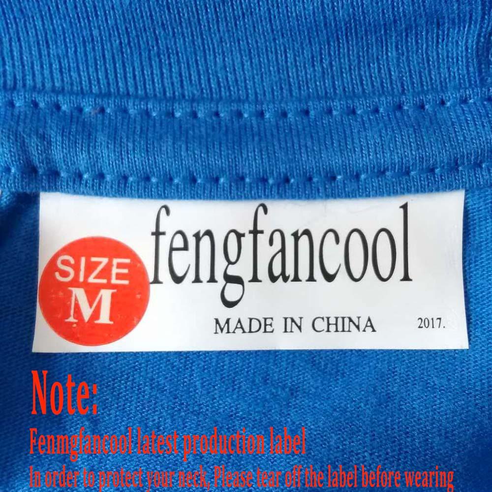 Fengfancool Marke 100% Baumwolle Männer leer T-Shirt, hochwertige - Herrenbekleidung - Foto 2