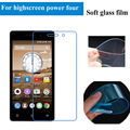 For highscreen Power four Screen Protector Soft Glass Nano Explosion proof  Protective Film Guard