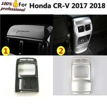 Высокое качество для Honda CRV CR-V 2017 2018 Тюнинг автомобилей крышка отделка ABS Хром Задняя кондиционер на выходе Vent 1 шт.