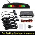 4 Parking Sensors Car Backup Reverse Radar Rearview Buzzer Sound Alarm hot selling