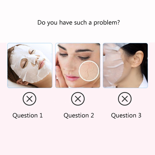 Silicone Face Mask for the Face Sheet Mask Anti-off Mask Ear Fixed Prevent Essence Evaporating Reusable Face Mask Skin Care Tool 3