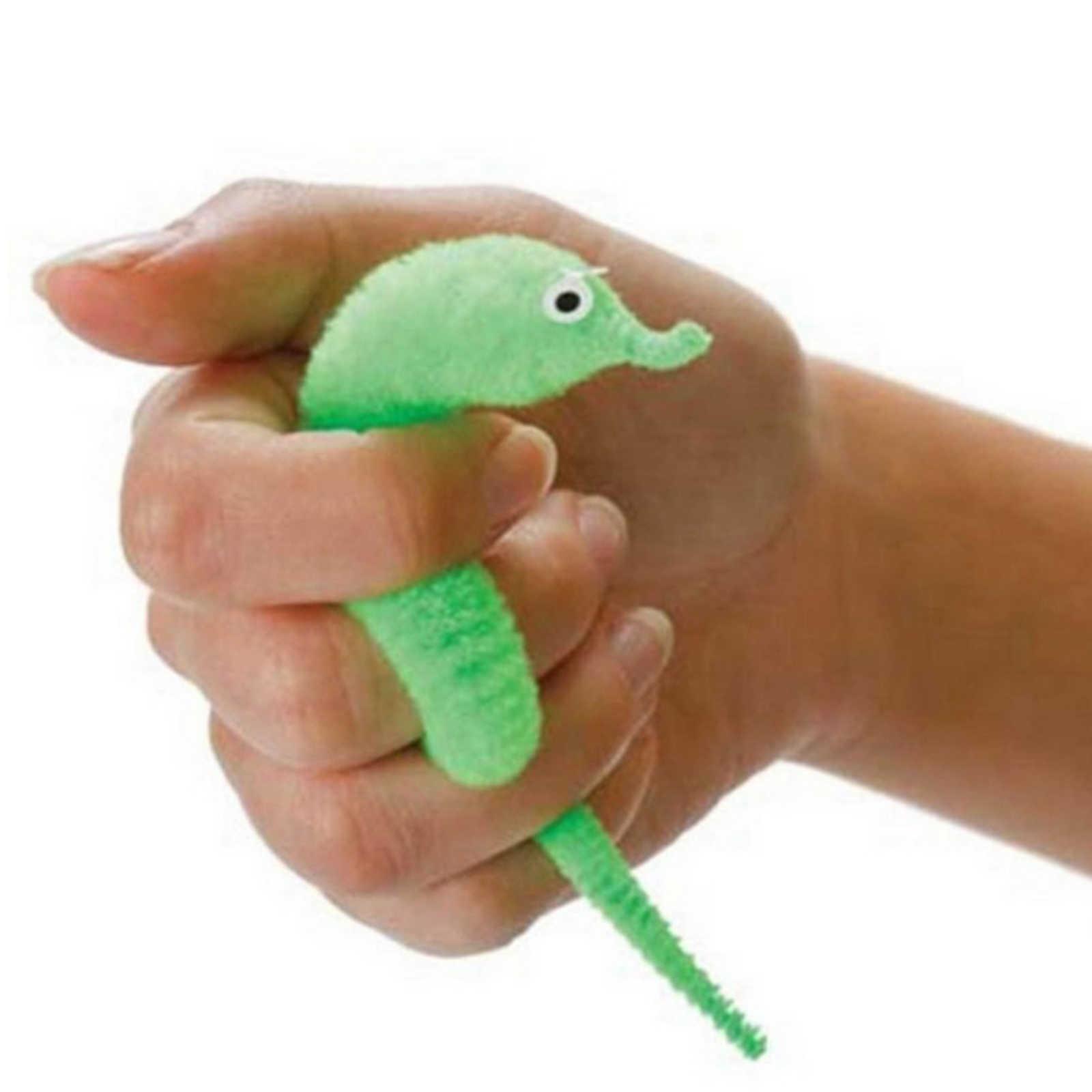 Забавные волшебный червь маг трюк извилистые плюшевый покачивающийся мягкие животные уличная игрушка Открытый Инструменты