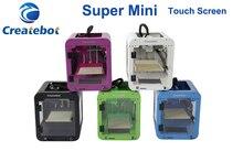 Createbot Супер Мини Металла 3d-принтер 3d prnters Кадр дешевые детская imprimante 3d подарок 1.75 мм НОАК Накаливания impresora 3d