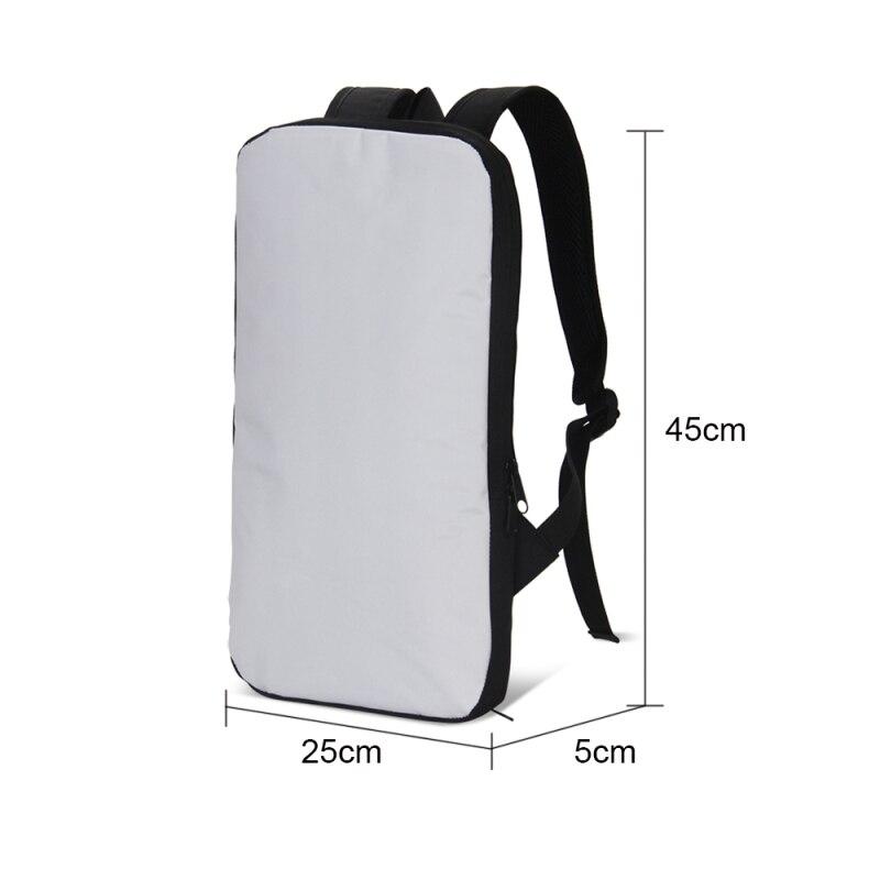 Veevanv nouveauté mode 3D impression Ipad sacs à dos Animal motif tablette ordinateur sacs court Villus à l'intérieur des sacs à dos d'ordinateur portable - 6