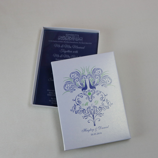50 Free Personalized Luxury Acrylic Wedding Invitation Cards For Free Laser Engraved Party Invitations And White Boxes