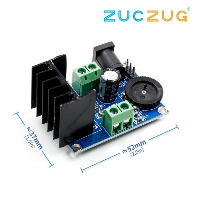Hohe Qualität Audio Power Verstärker DC 6 zu 18V TDA7297 Modul Doppel Kanal 10 50W