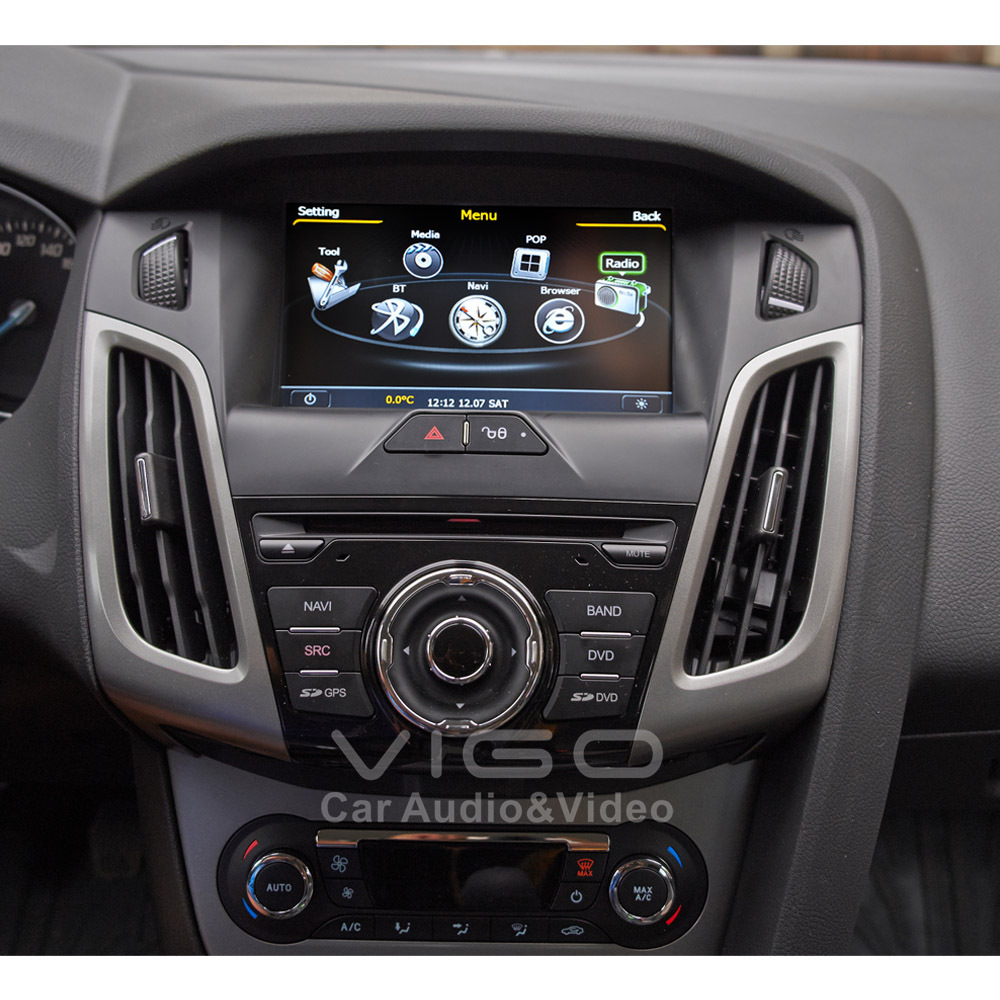 car audio 1 din picture more detailed picture about car stereo gps navigation for ford focus c. Black Bedroom Furniture Sets. Home Design Ideas