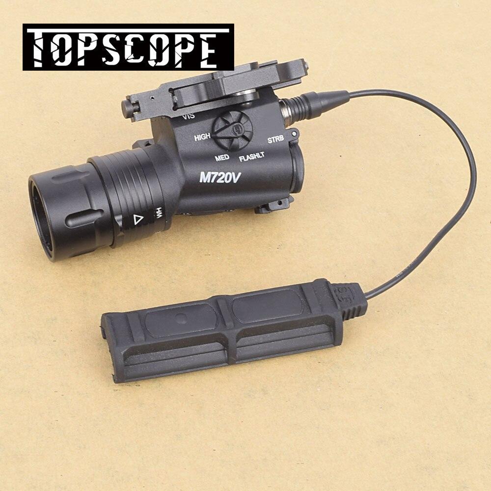 Airsoft Élément M720V Airsoft Tactique lampe de Poche Strobe Version Éclairage au Pistolet Tactique Arme Légère