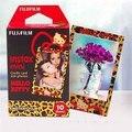 100% original hello kitty leopard fujifilm fuji instax mini película 10 unids papel Para 8 50 s 7 s 90 25 Compartir SP-1 Mini Instantánea cámara