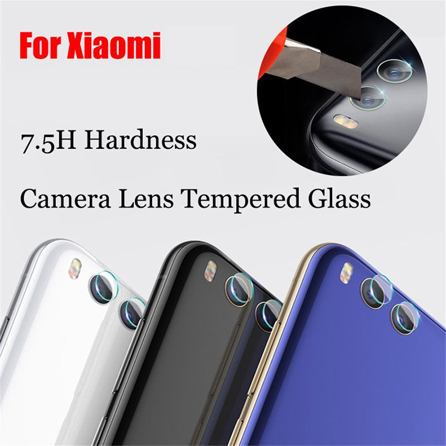 Back Camera Lens Tempered Glass Protector Protective Film For Xiaomi Mi 6 A1 5X Note 4 Redmi 4X Max 2 Mix 2 2S Note 5 Pro