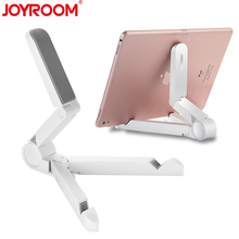 JOYROOM Universal Desktop Tablet Holder Mobile Phone Tablet Stand Bracket Mount For Samsung Tablet ipad 3 4 5 Air 2 Mini(China)