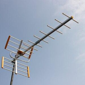Image 3 - Antenne de télévision extérieure numérique HDTV à Gain élevé pour DVBT2 HDTV ISDBT ATSC antenne de télévision extérieure à Signal fort à Gain élevé