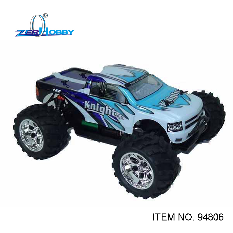 RC CAR TOYS HSP KNIGHT PRO 1/18 SCALE EP PROFESSIONAL 4WD OFF ROAD REMOTE CONTROL MONSTER TRUCK BRUSHLESS MOTOR NO. 94806PRO 03007 motor mount rc hsp 1 10th on road drift off road car buggy monster truck rc car parts child toys