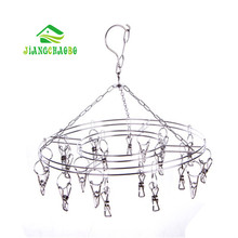 stainless steel clothes socks shorts underwear drying rack hanger 20 clips cleaning tools laundry products hangers