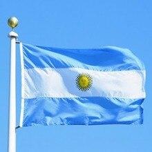 Gros argentine drapeau en