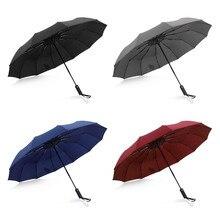 Parapluie de pluie de qualité 12 côtes