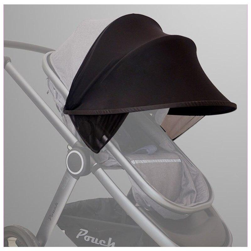 Bébé poussette UV parasol couverture pour landau bébé poussette accessoires pluie couverture coupe-vent crème solaire ombre couverture parapluie