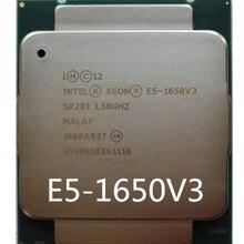 Intel Ксеон E5 1650 V3 3,5 ГГц 6 Core 15 Мб Кэш LGA2011-3 Процессор E5 1650-V3 процессор 1650V3