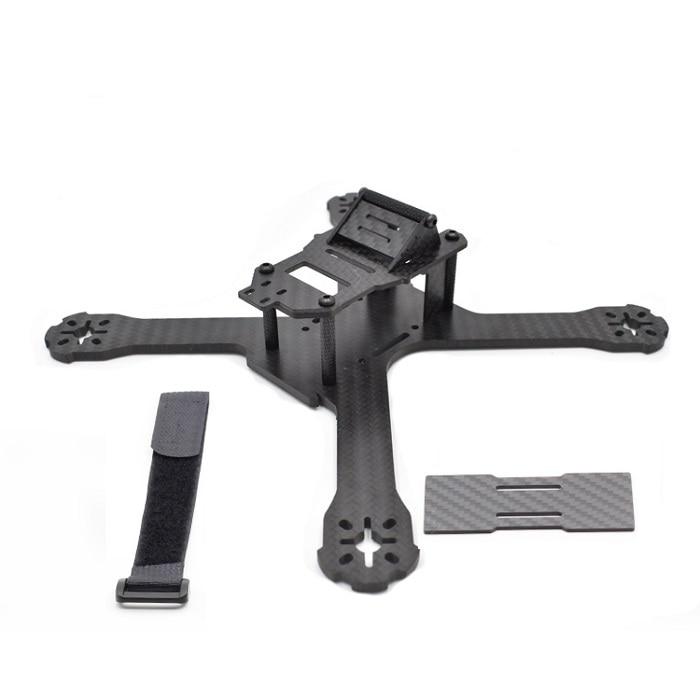 2016 Newest DIY Mini Drone FPV QAV-X 184/214/244mm Cross Racing Quadcopter With 4mm Arms for QAV-X 210 Pure Carbon Fiber Квадрокоптер