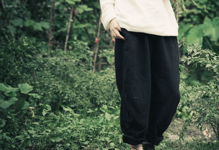 Spring 2015 product launches, original design loose big yards of womens 100% cotton linen leisure wide-legged pants