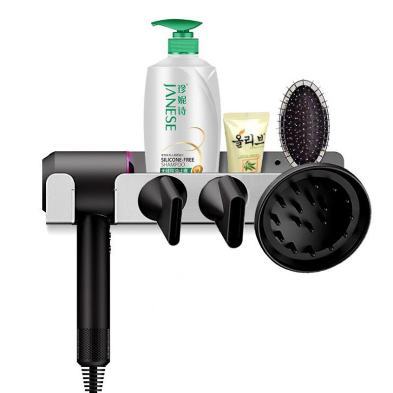 US $33 82 30% OFF Magnetic Bathroom Wall Mount Bracket Holder for Dyson  Supersonic,Stainless Steel Holder Stand For Dyson Supersonic Hair Dryer-in