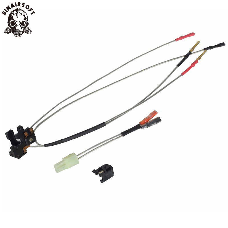 SINAIRSOFT ELEMENT PW0203 PW0204 LARGE CAPACITY SWITCH ASSEMBLY Suitable For Ver.2 Gearbox Front Wiring Rear Wiring Airsoft AEG