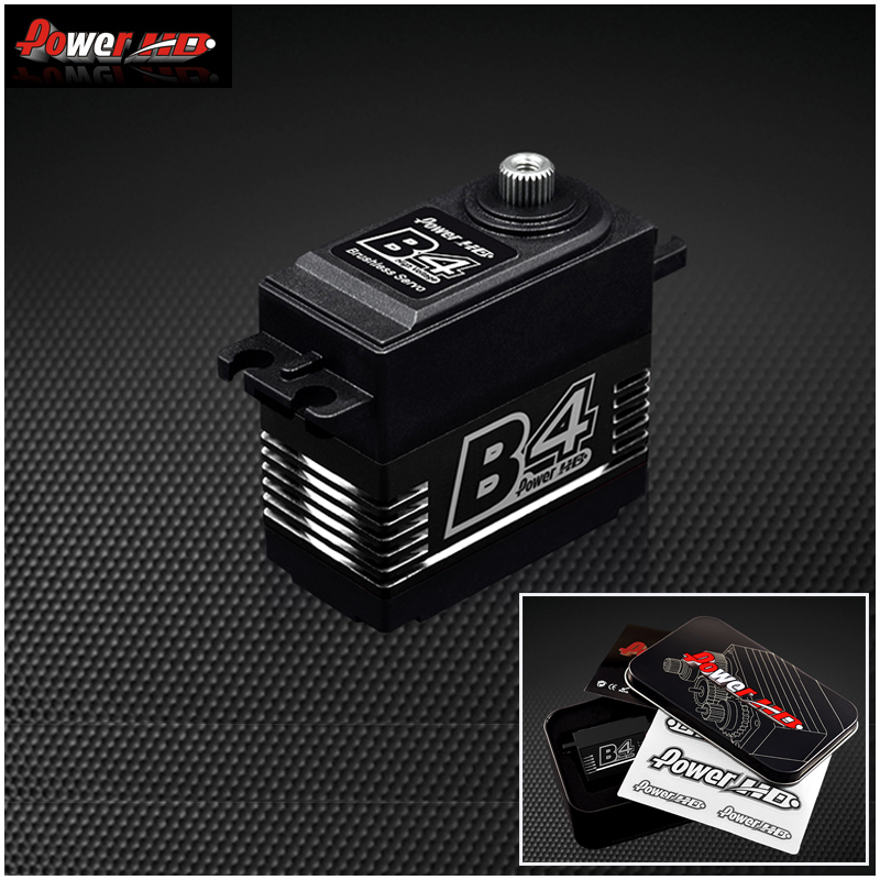 1pcs Original Power HD B4 25KG High Torque Brushless Metal Gear Servo for RC Airplane 3D F3A цена